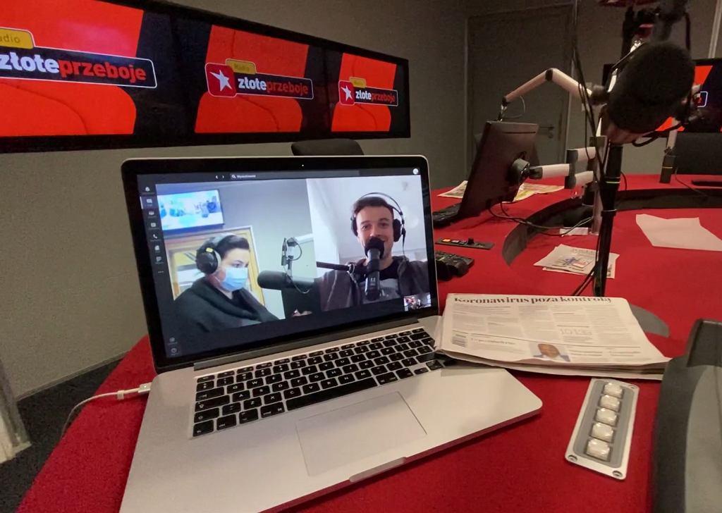 Jak wyglądała praca w radiu w 2020 roku?