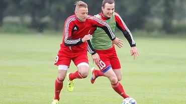 Damian Bierżyński (z prawej)