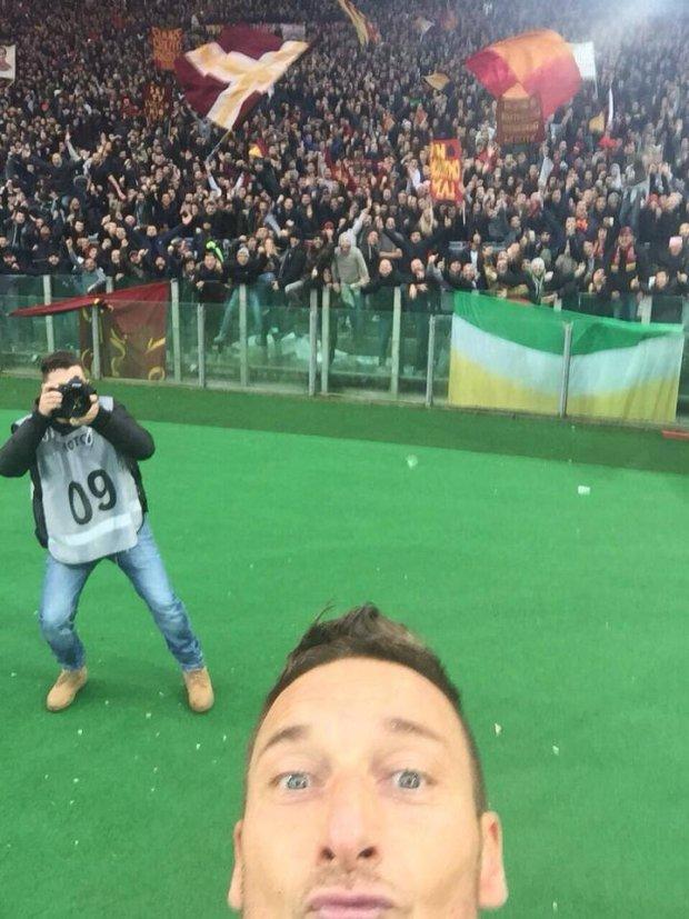 Selfie Tottiego