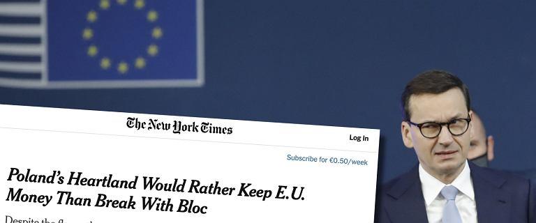 """Dziennikarz """"NYT"""" odwiedził """"bastion PiS"""" w Polsce. """"Alternatywą jest Moskwa"""""""