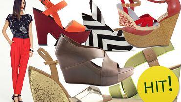 HIT: sandały na koturnie - ponad 130 propozycji