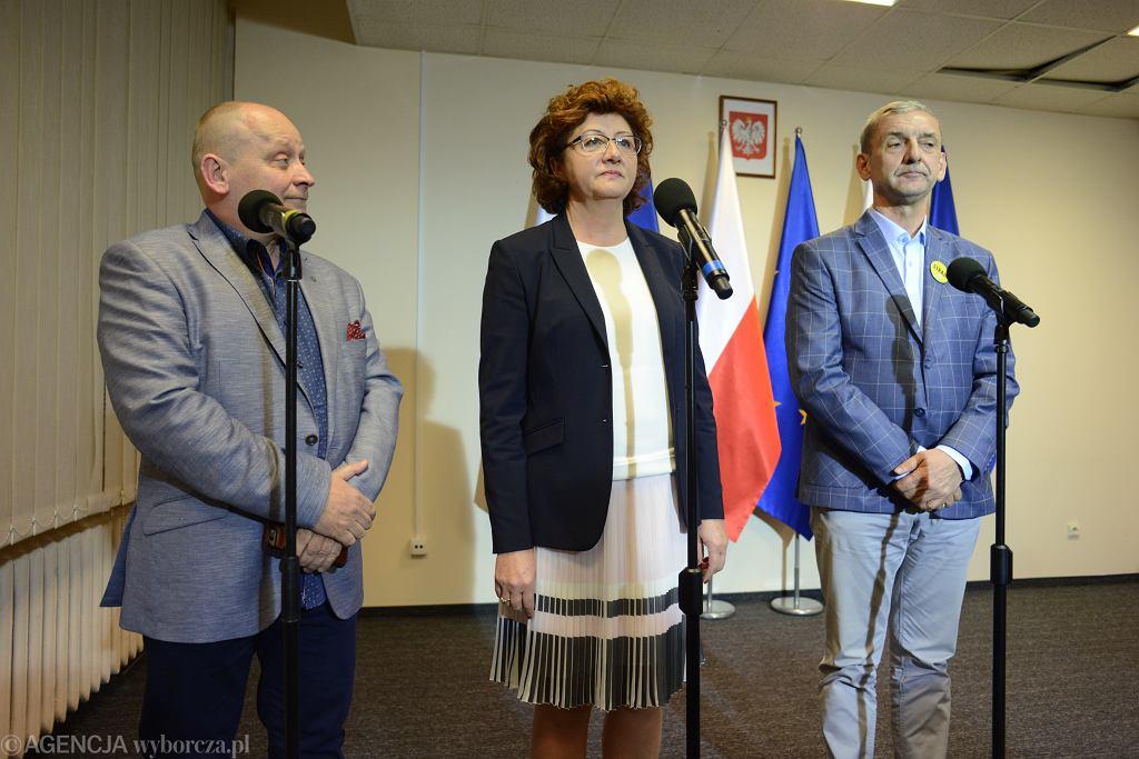 Dorota Gardias, Sławomir Broniarz, Sławomir Witkowicz
