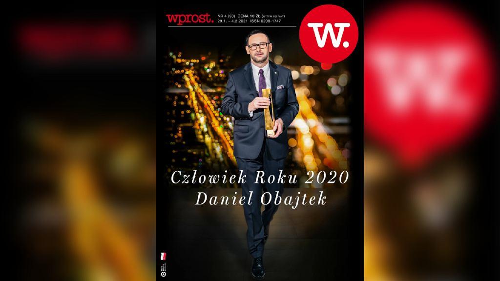 Daniel Obajtek wybrany Człowiekiem Roku 2020 tygodnika 'Wprost'