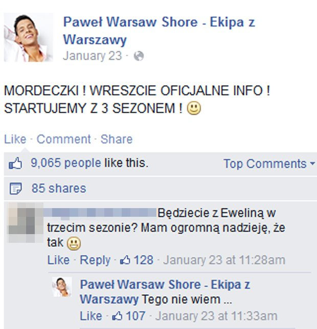Paweł Warsaw Shore