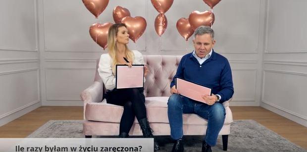 Izabela Janachowska z mężem