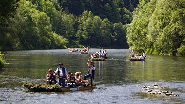 Spływ Dunajcem w Pieninach/shutterstock