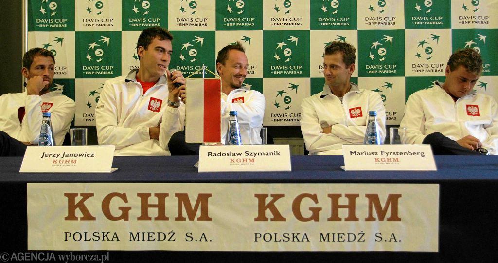 Polscy tenisiści przed meczem Pucharu Davisa z Australią