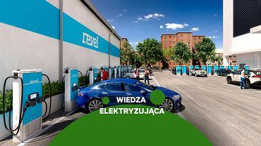 Ładowanie samochodów elektrycznych - zdjęcie ilustracyjne
