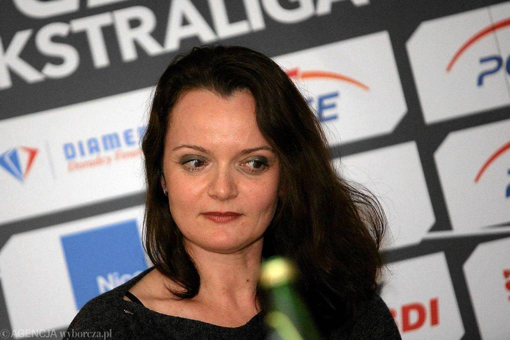 Prezes KS Get Well Toruń Ilona Termińska