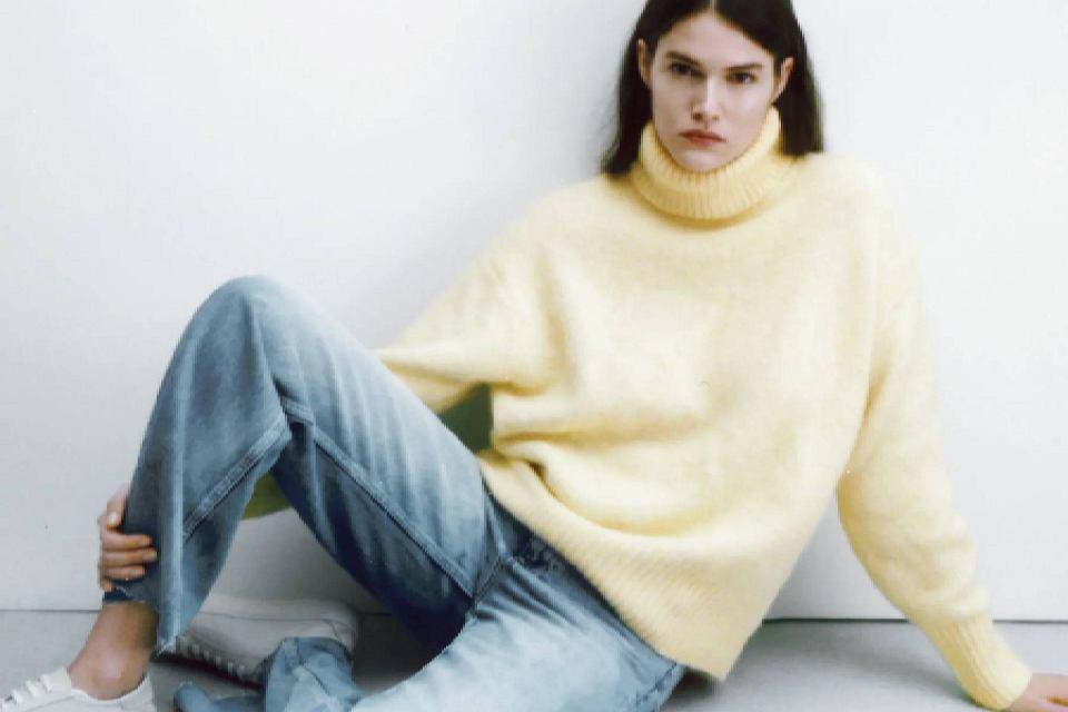 Gigantyczna wyprzedaż ZARA! Jeansy za niecałe 40 złotych i swetry z wielkimi rabatami
