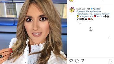 Karolina Szostak w modnej stylizacji