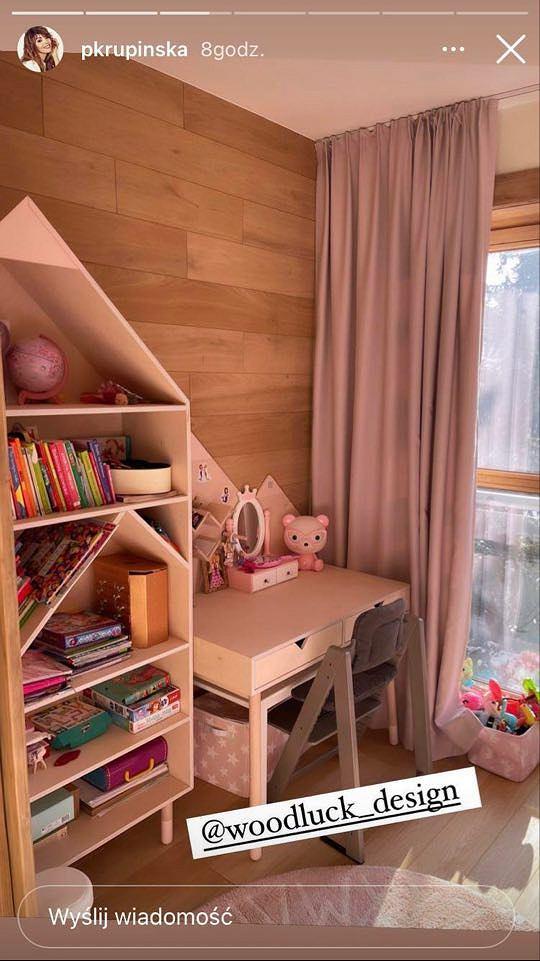 Pokój córki Pauliny Krupińskiej
