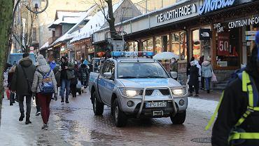 Turyści w Zakopanem
