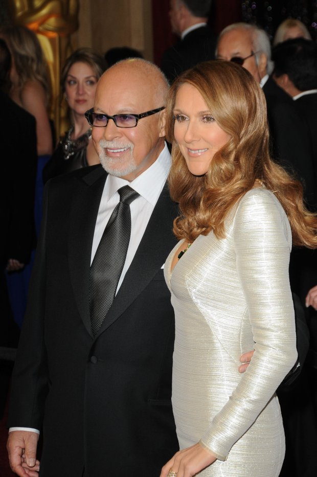 02/27/2011 - Celine Dion and husband Rene Angelil - 83rd Annual Academy Awards - Arrivals - Kodak Theatre - Hollywood, CA, USA - Keywords:  Orientation: Portrait Face Count: 1 - False - Photo Credit: Andrew Evans  / PR Photos - Contact (1-866-551-7827) - Portrait Face Count: 1