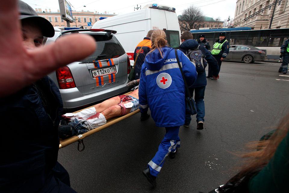 Wybuch w metrze w Sankt Petersburgu