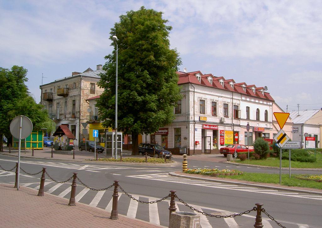 Wyświetlili film porno w centrum Hrubieszowa