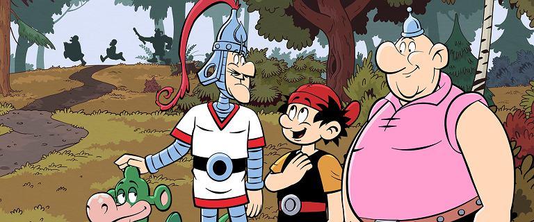 """Na przygodach dzielnych wojów wychowały się pokolenia. """"Kajka i Kokosza"""" zobaczymy na Netfliksie"""