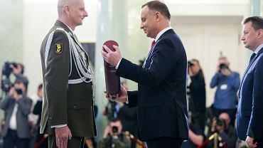 Wręczenie nominacji generalskich