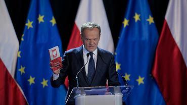 Szef RE, były premier, Donald Tusk