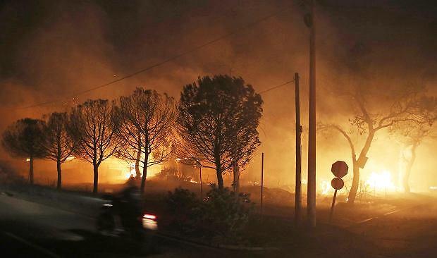 Pożary w Grecji. Dwoje Polaków zginęło podczas ewakuacji
