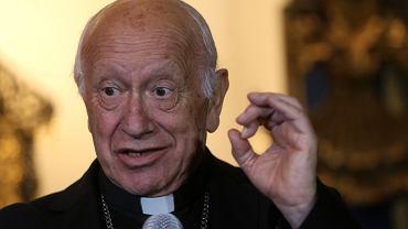 Arcybiskup Santiago kardynał Ricardo Ezzati