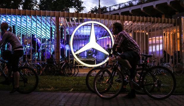 Stacja Mercedes