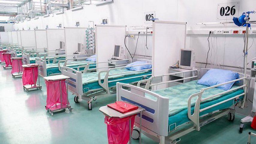 Tymczasowy szpital wojskowy na Okęciu