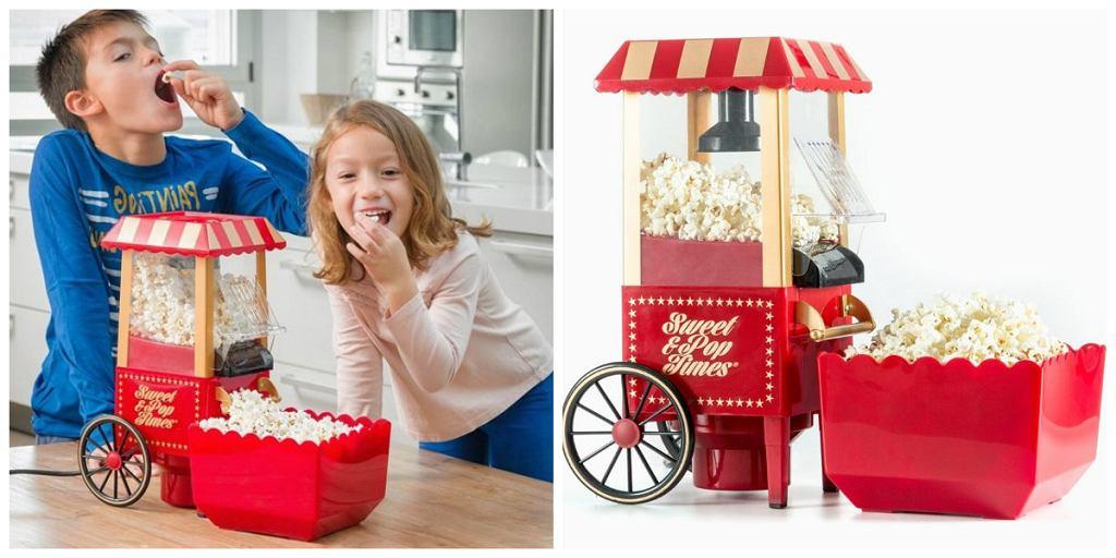 Domowe urządzenie do przygotowywania popcornu