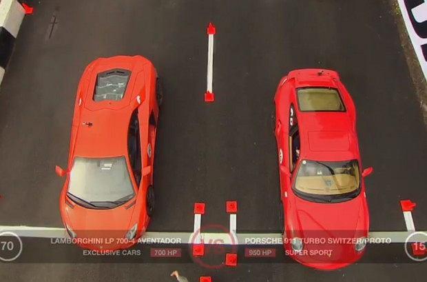 Lamborghini Aventador vs Porsche 911