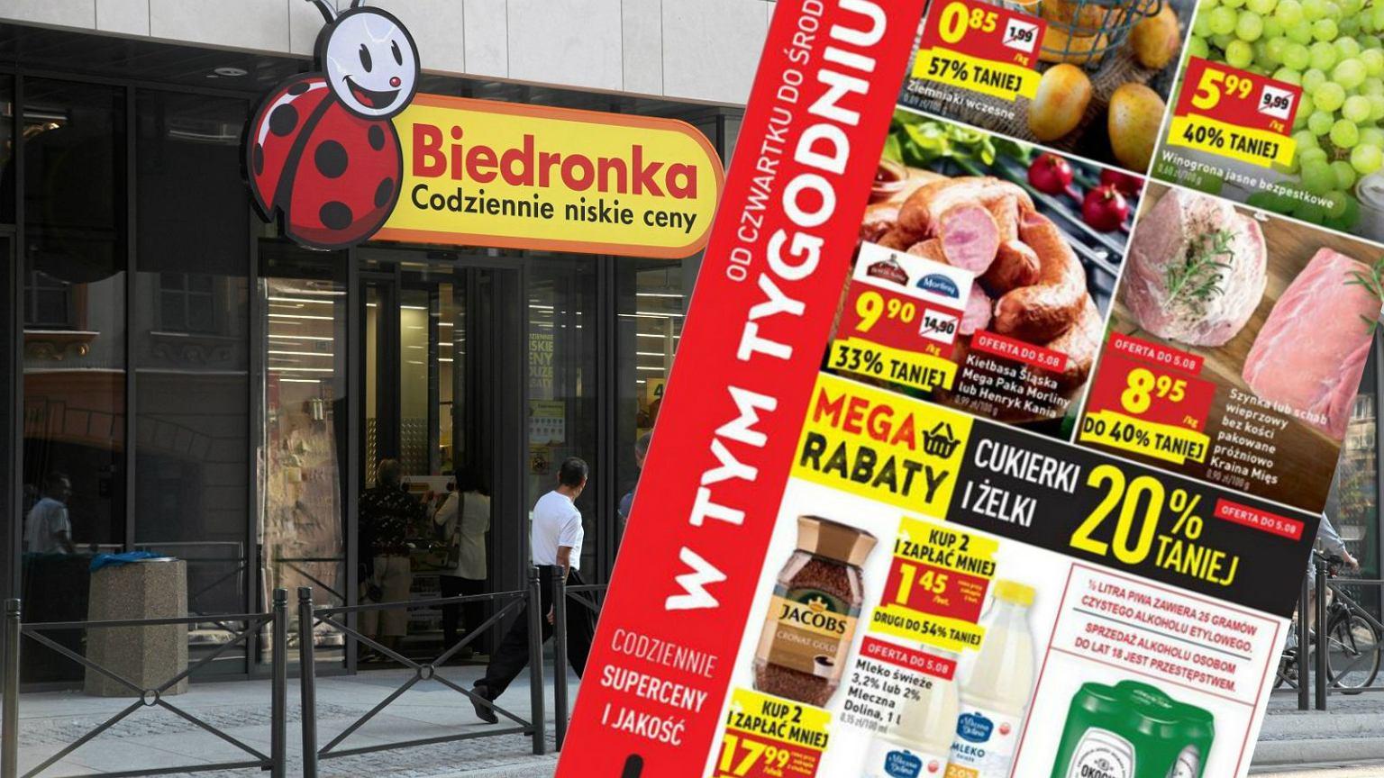 Biedronka Gazetka Od 0208 Do 0808 Tańsze Piwo Soki I