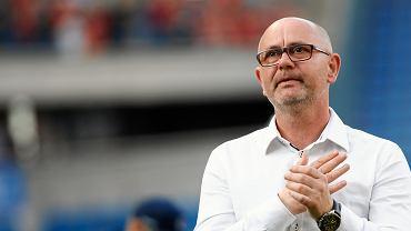 Trener Miedzi Dominik Nowak