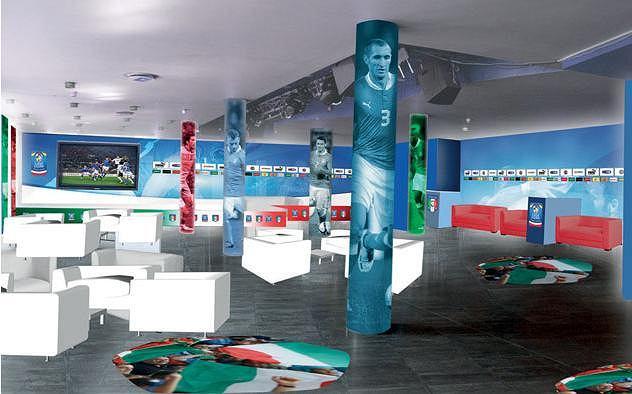 Wizualizacja Casa Azzurri w Rotundzie