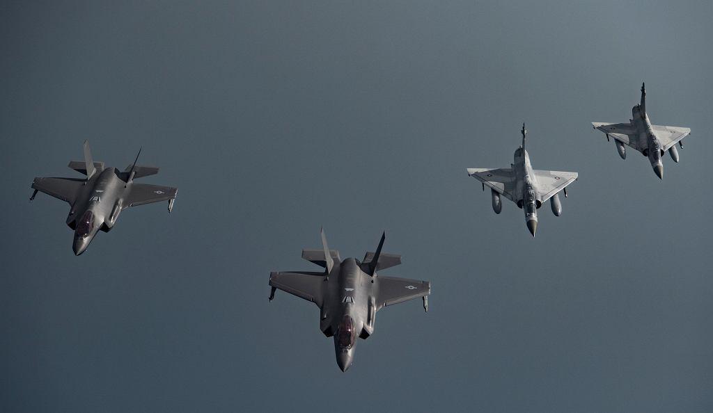 Samoloty F-35A.