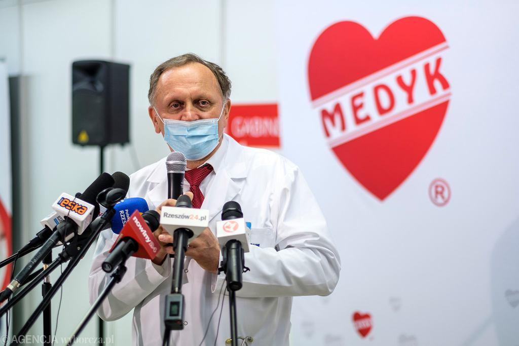 Szef CM Medyk Stanisław Mazur