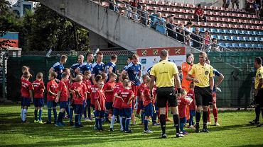 Piłkarze Odry Opole podobnie jak szczypiorniści Gwardii mieli powody do radości