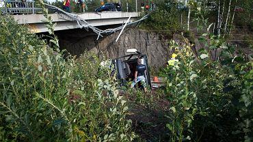 Wypadek w Finlandii