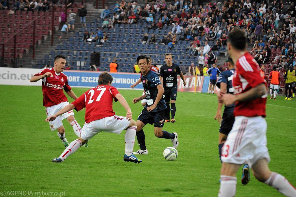 W tym sezonie Pogoń zremisowała (0:0) i przegrała z Wisłą (1:2)