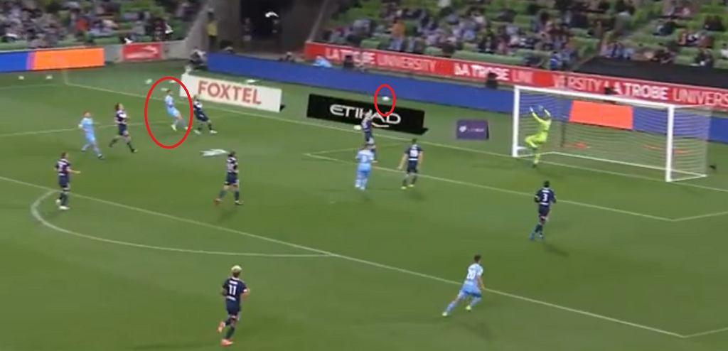 Szalony gol w lidze australijskiej