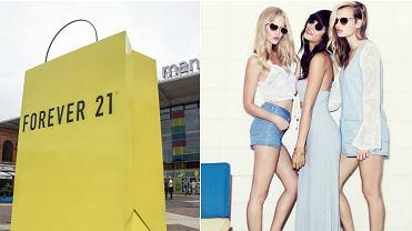 Forever 21 już w Polsce. Już od 17 września w łódzkiej Manufakturze, przed którą ustawiono reklamę w formie... gigantycznej torby na zakupy