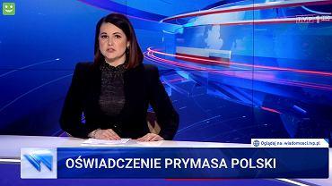 Wiadomości TVP - wydanie niedzielne
