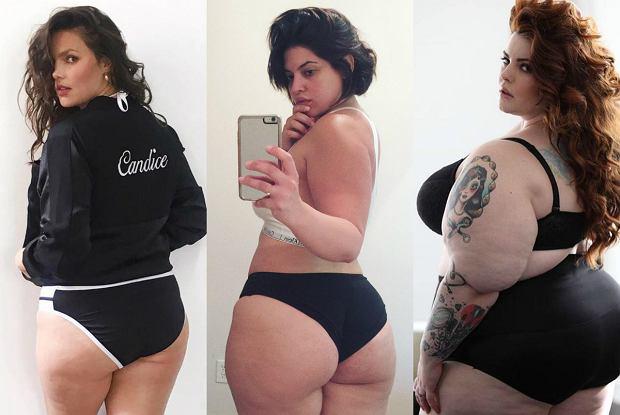 Modelki plus size: Candice Huffine, Danise Bidot, Tess Holliday