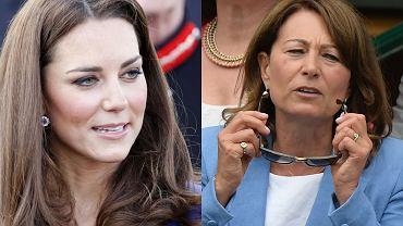 Księżna Kate, Carole Middleton