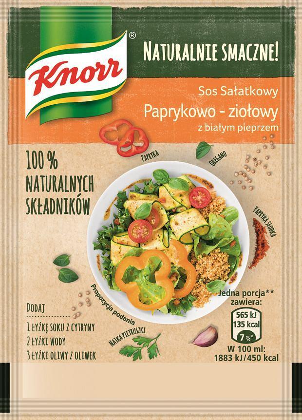 Sos sałatkowy Parykowo-ziołowy Naturalnie Smaczne Knorr