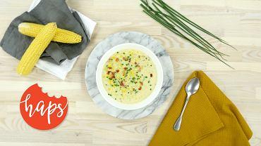Haps chowder kukurydziany