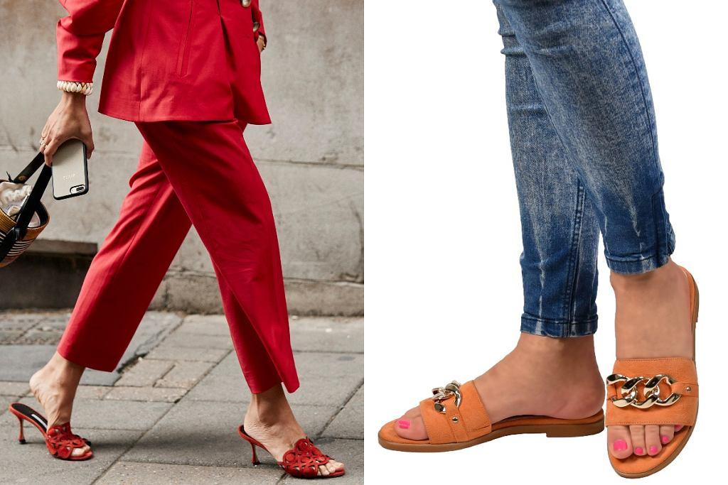 Buty w modnych kolorach
