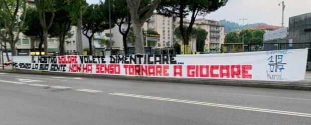 'Miasto duchów' wraca do życia. Atalanta Bergamo szykuje się do gry. 'Gonicie miliony, nie piłkę'