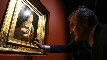 Dama z gronostajem w Muzeum Narodowym w Krakowie