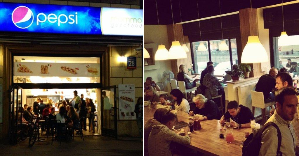 Nocne fast foody Warszawa