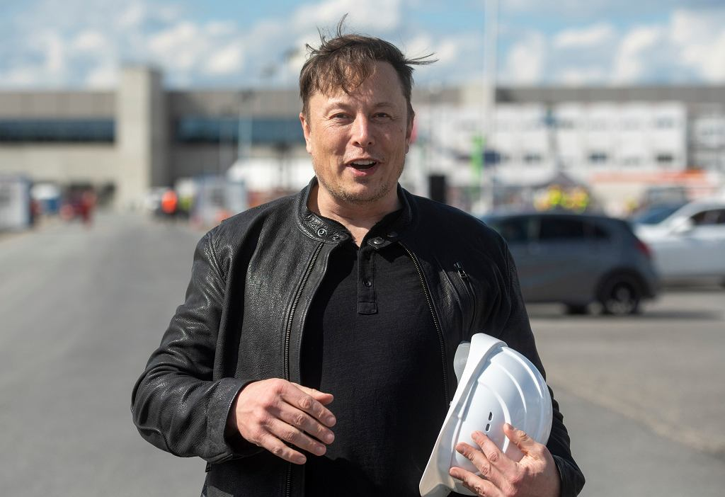 Elon Musk, założyciel firmy Tesla.
