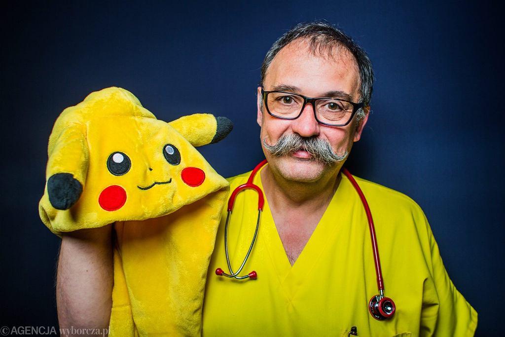 Prof. Spodaryk - zdjęcie zostało użyte jako ilustracja do informacji o lekarzu, który nie chciał przyjmować 'pacjentów z PiS'